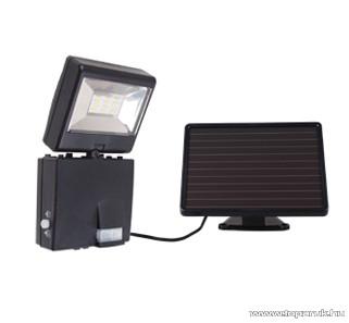 GAO 6923H Szolárpaneles LED reflektor mozgásérzékelővel, 6500 K, hidegfehér, 12 x 0,5 W