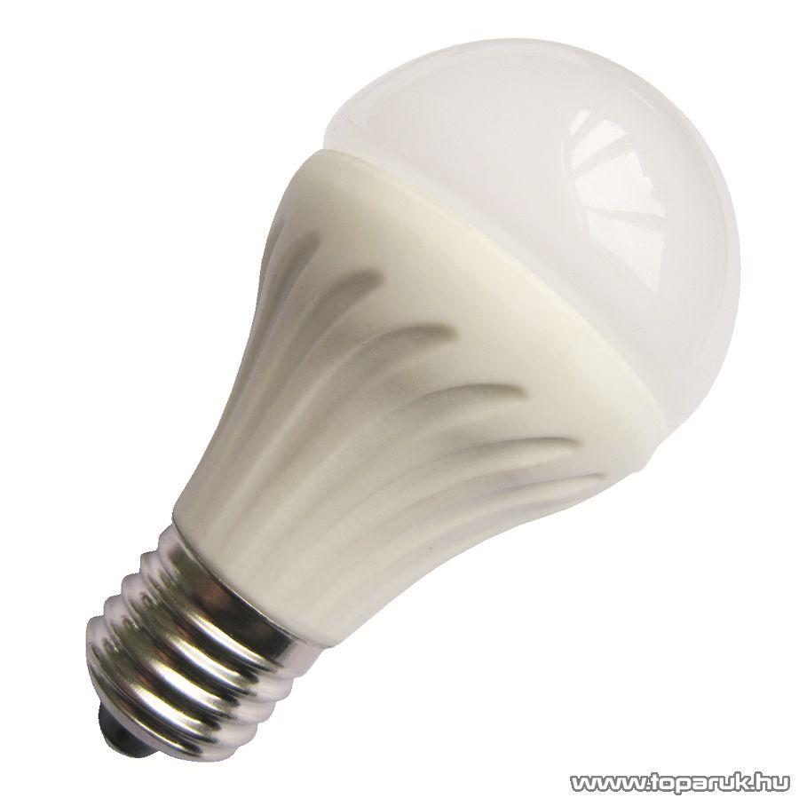 GAO 0702H LED fényforrás, 6W, 3000K, 18 SMD LED, E27, melegfehér