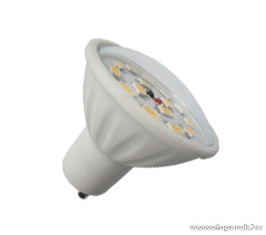 GAO 6963H LED fényforrás, energiatakarékos égő, 5W, 3000K, meleg fehér, spot, GU10 foglalat