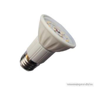 GAO 6966H LED fényforrás, energiatakarékos égő, 5W, 3000K, meleg fehér, spot, E27 foglalat