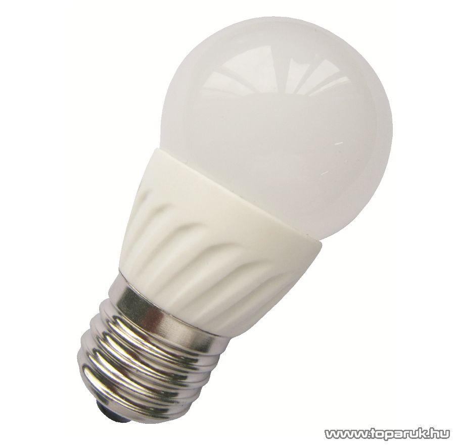 GAO 6969H LED fényforrás, 4 W, 3000K, 10 SMD LED, E27, melegfehér
