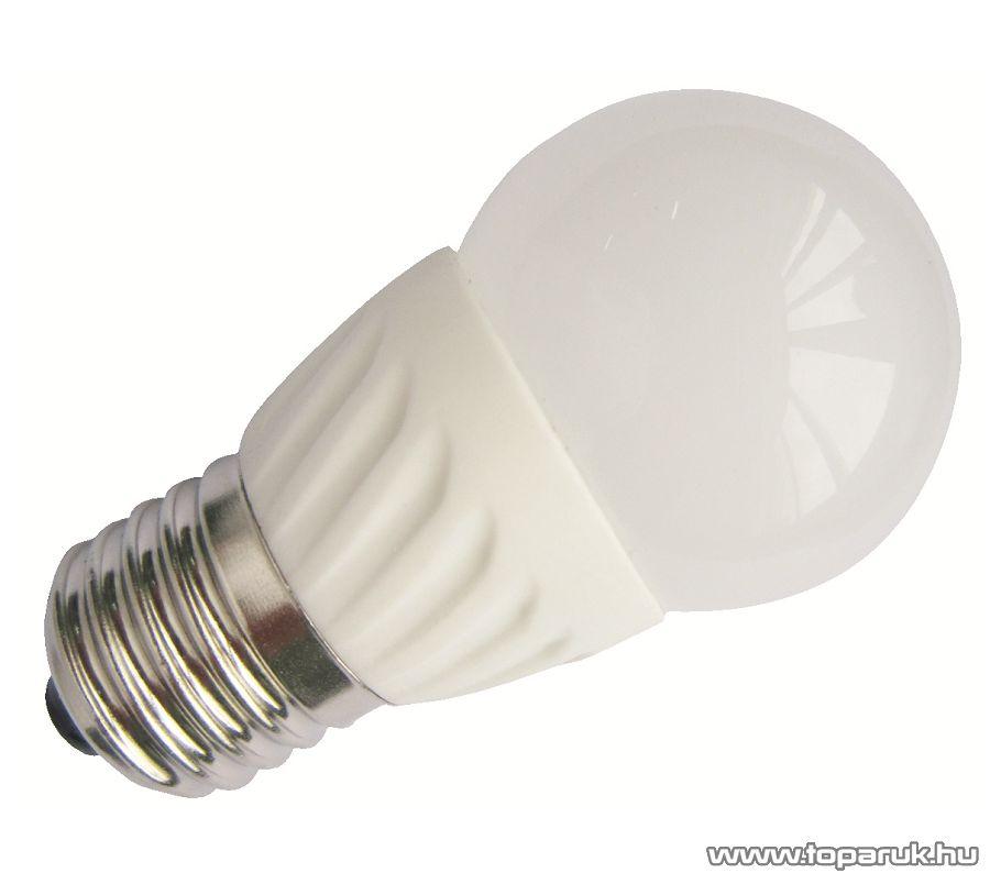 GAO 7077H LED fényforrás, 3 W, 3000K, 8 SMD LED, E27, melegfehér