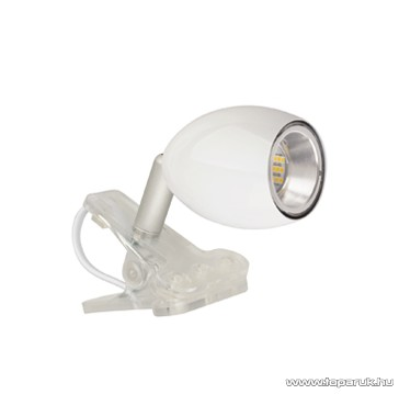 GAO 7083H Beépített 18 db LED-es csíptetős spot, fehér