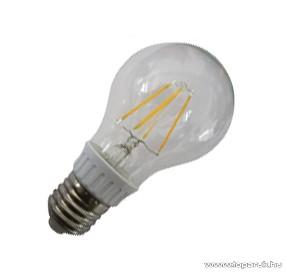GAO 7089H LED fényforrás, energiatakarékos égő, 4W, 3000K, meleg fehér, A60, E27 foglalat