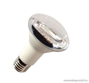 GAO 8160H LED fényforrás, energiatakarékos égő, 5W, 3000K, meleg fehér, R63, E27 foglalat