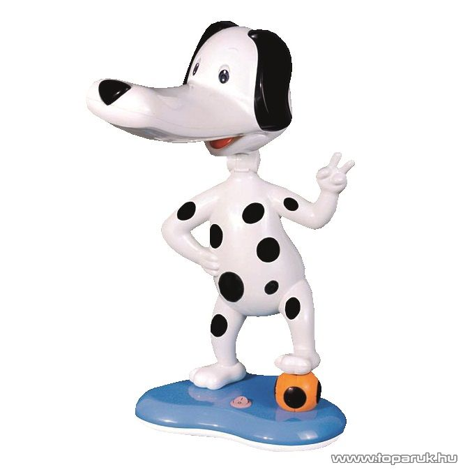Horoz HL046 WHITE Asztali lámpa, fekete fehér, pöttyös kutya design