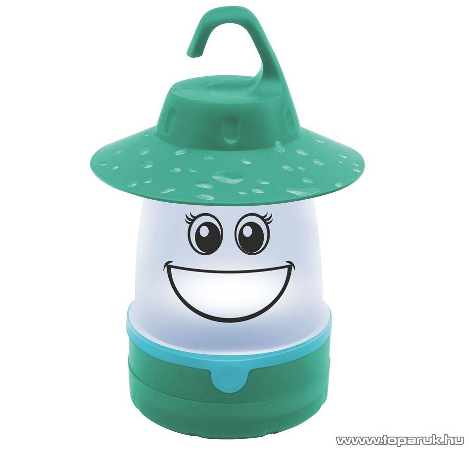 HOME CL 7L/GR Elemes gyermek LED-es kempinglámpa, zöld
