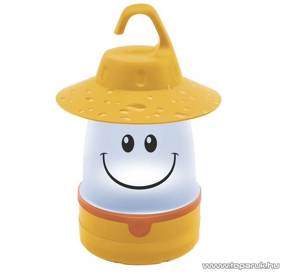 HOME CL 7L/YE Elemes gyermek LED-es kempinglámpa, sárga