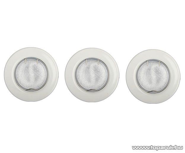 GAO 8353H Süllyesztett szpot szett, fehér, GU 10 foglalat, 9 W, kompakt fénycső