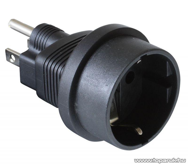 HOME AC 02/US Földelt utazó adapter (GS - US átalakító)