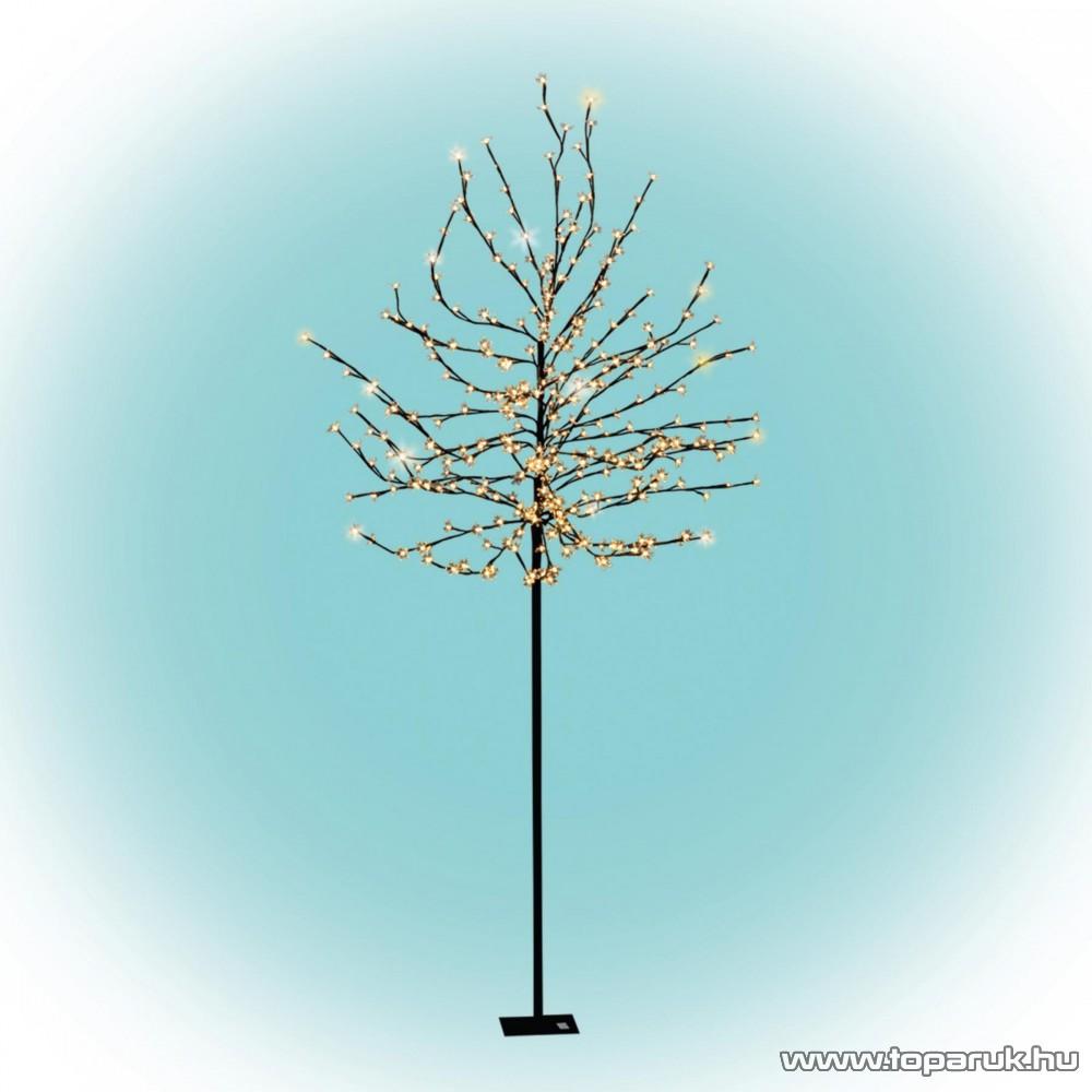 HOME CBT 320 Kültéri LED-es virágzó cseresznyefa dekoráció, 320 db meleg fehér LED-del