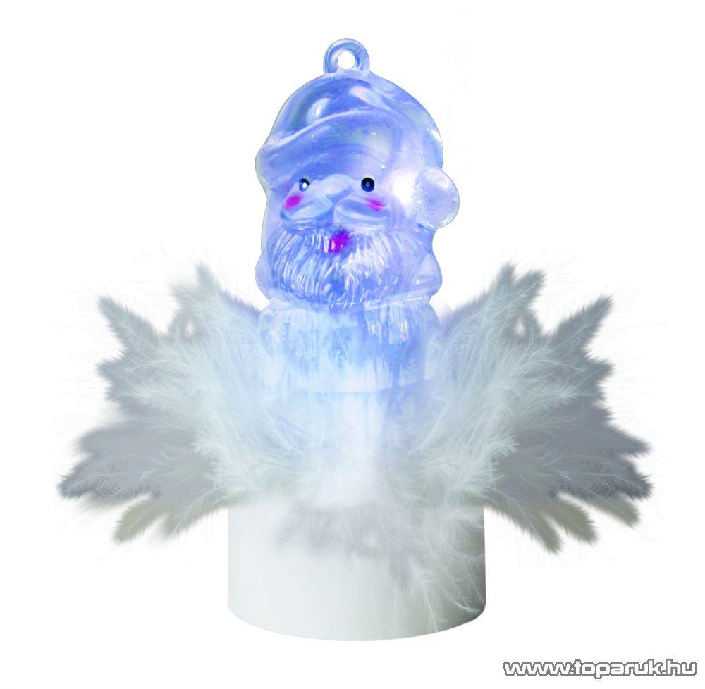 HOME 1 db színváltó LED-es beltéri mécses dekoráció, Mikulás