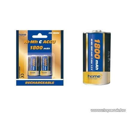 HOME CM 1800C 1800mAh Ni-MH baby C akkumulátor