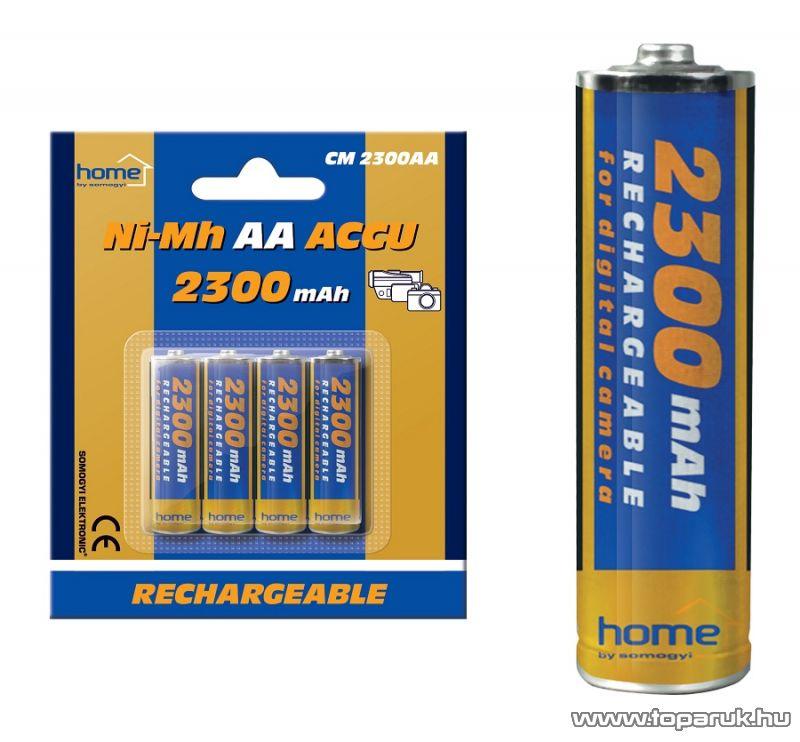 HOME CM 2300AA 2300 mA Ni-Mh ceruzaakkumulátor (AA), 4 db / csomag