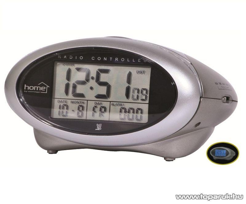 HOME DCA 01 Asztali elemmel működő, világítós ébresztőóra - megszűnt termék: 2014. október