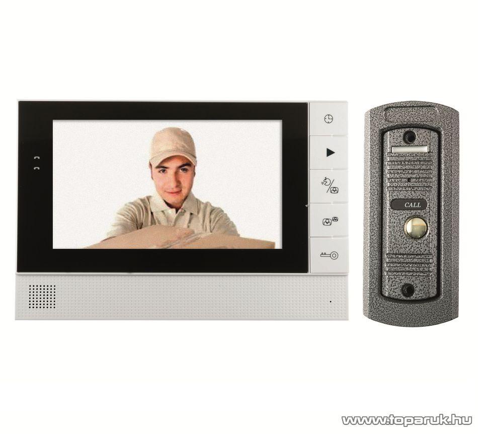 HOME DPV 25 Vezetékes színes kijelzős videó kaputelefon szett