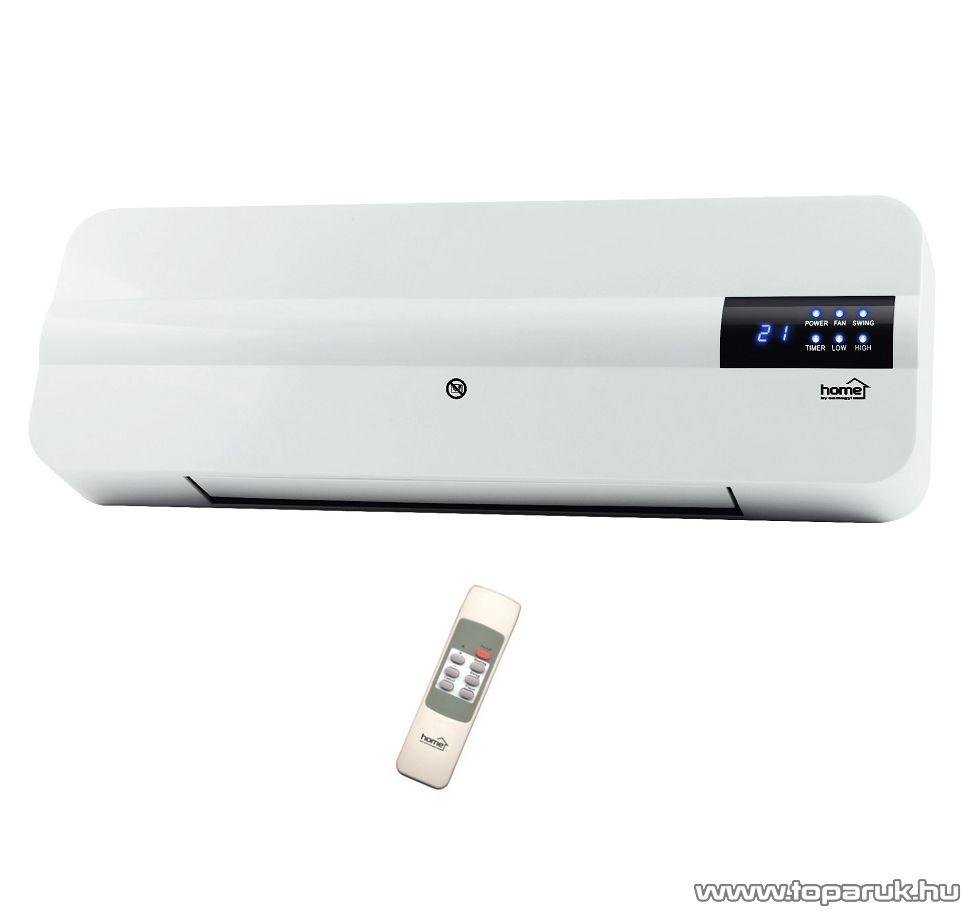 HOME FKF 2000 D LCD PTC Fali fűtőtest LCD kijelzővel, 2000 W