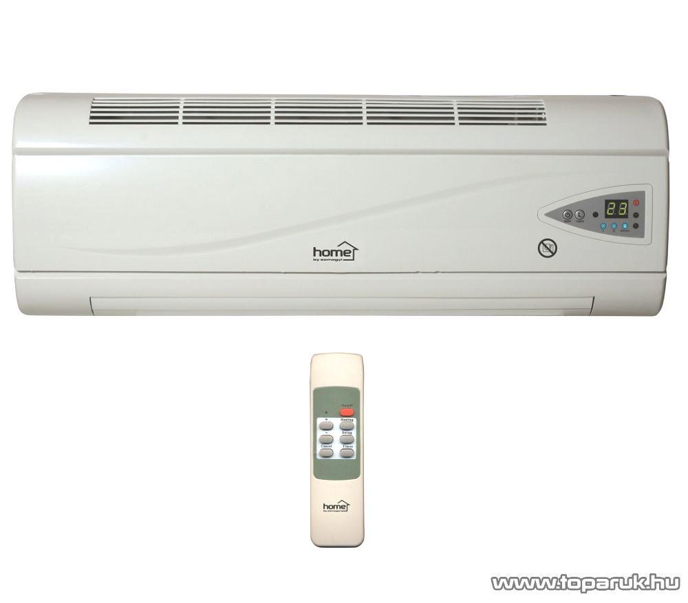 HOME FKF 2000 LCD PTC Fali fűtőtest LCD kijelzővel, 2000 W