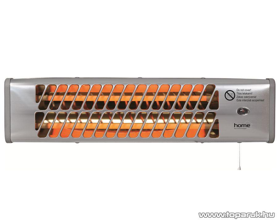 HOME FK 24 Kvarccsöves fűtőtest, fém házas hősugárzó, 1200 W