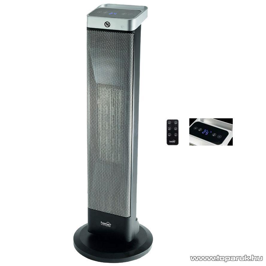 HOME FK 28 Kerámia fűtőtest LCD kijelzővel + távirányítóval, 2000 W