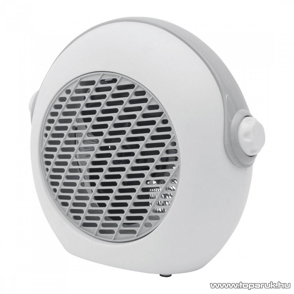 HOME FK 37/GY Hordozható elektromos ventilátoros fűtőtest, hősugárzó, szürke, 2000 W