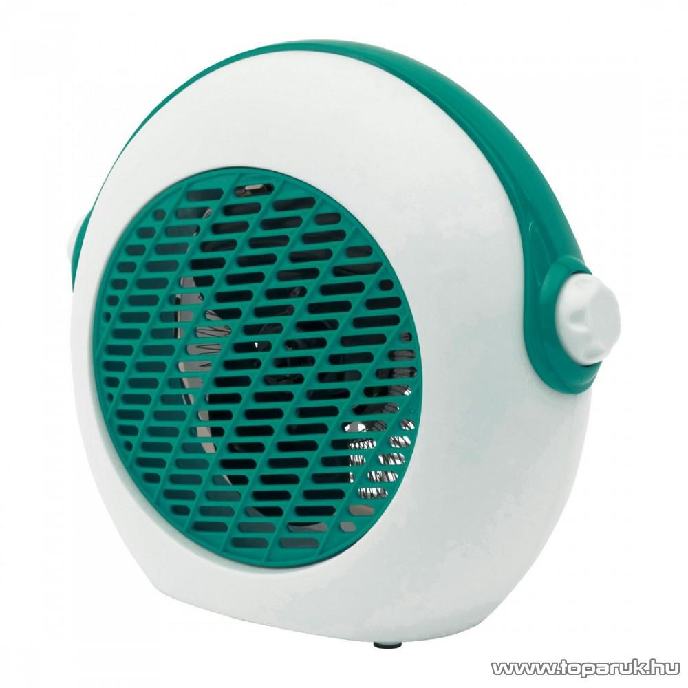 HOME FK 37/T Hordozható elektromos ventilátoros fűtőtest, hősugárzó, türkiz, 2000 W