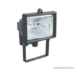 HOME FL 500/BK Kültéri kivitelű fényvető, 400W, fekete