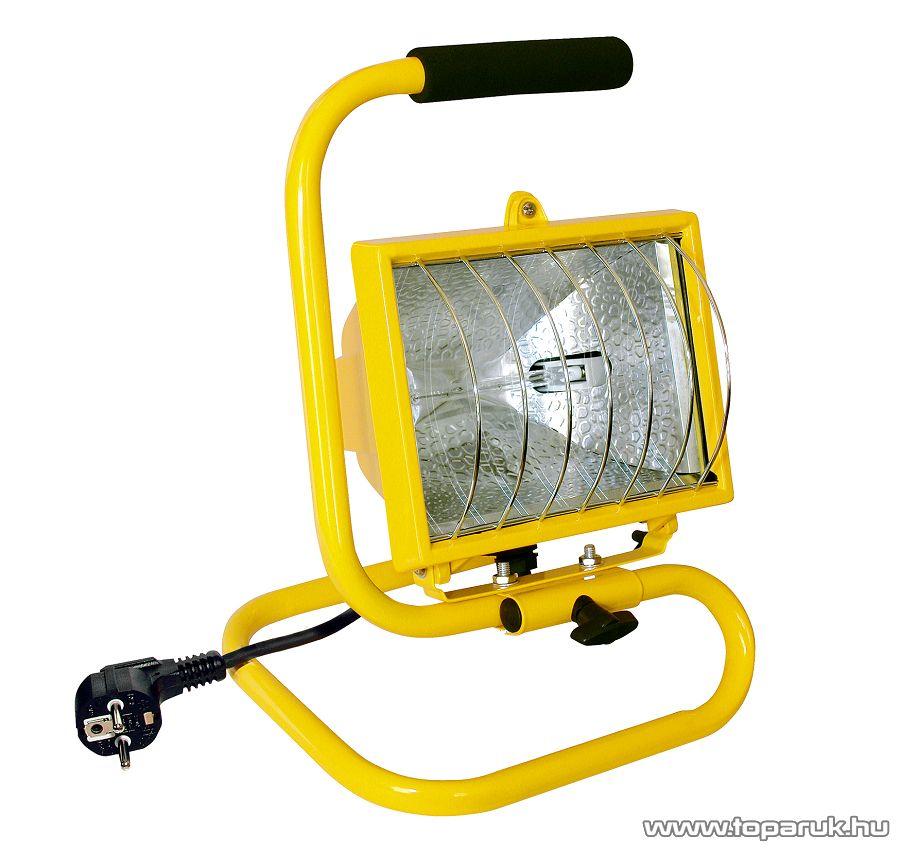 HOME FLH 500/YE Hordozható fényvető, 400 W, sárga