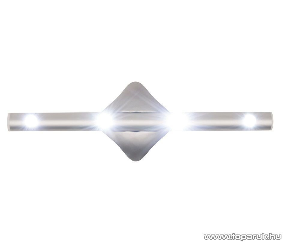 HOME GL 4L Multifunkciós elemes LED-es lámpa, hideg fehér világítással