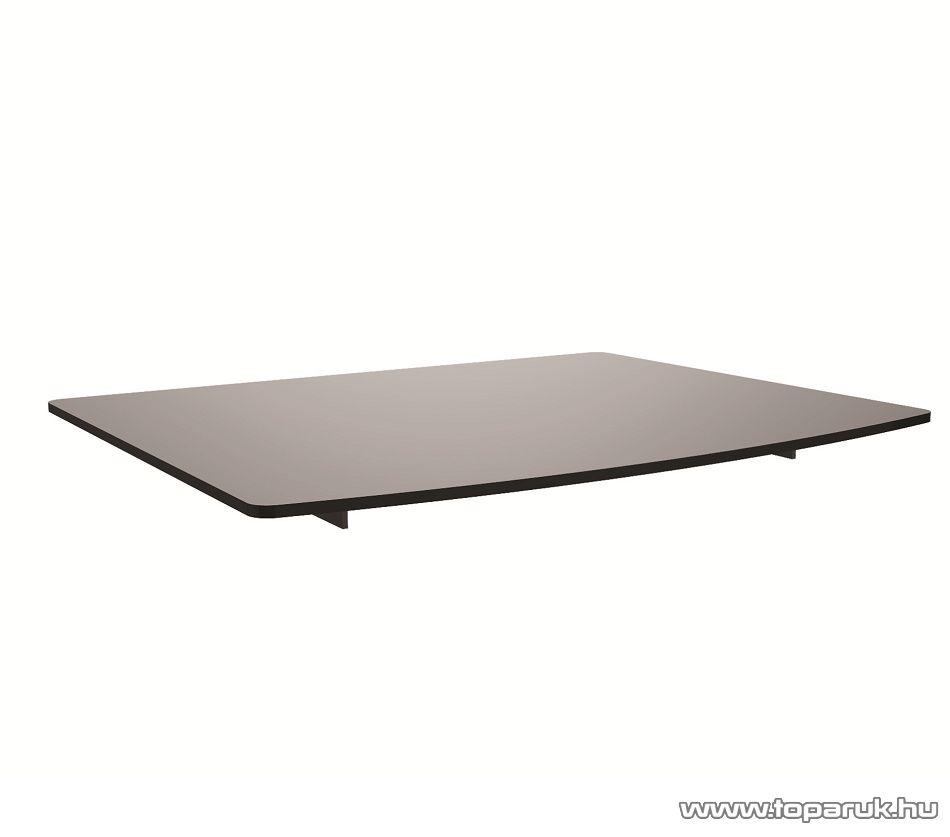 HOME GSH 026 Elegáns fali üvegpolc, 36 x 25 cm, 8 kg-ig terhelhető