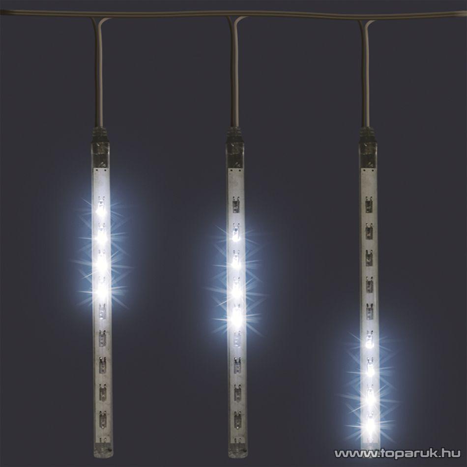HOME G 10101 Jégcsap fényfüzér dekoráció, hideg fehér