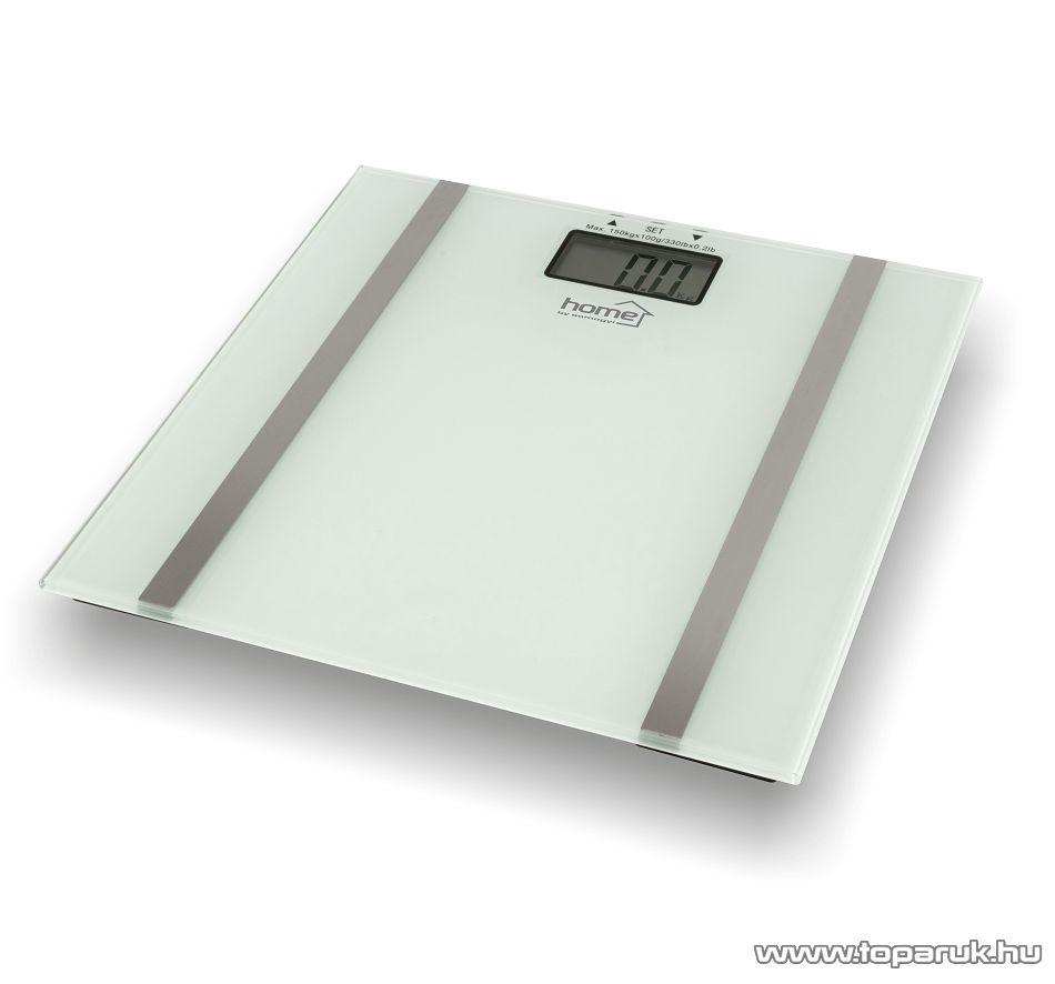 HOME HG FMZ 10 Fürdőszobai mérleg memóriával (max. 150 kg súlyig)