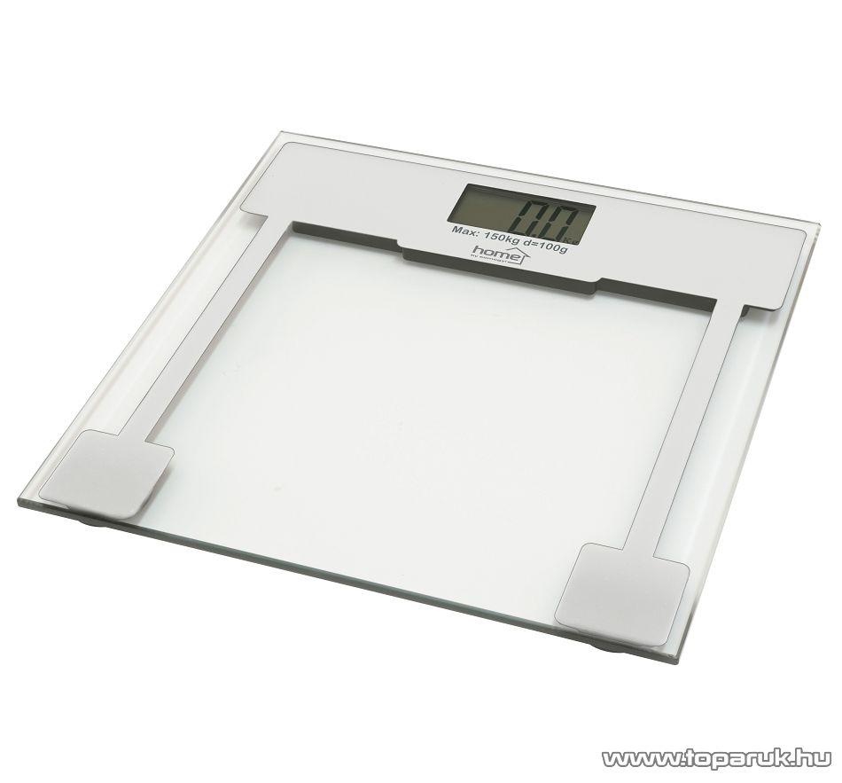 HOME HG FM 10 Fürdőszobai mérleg (max. 150 kg súlyig)