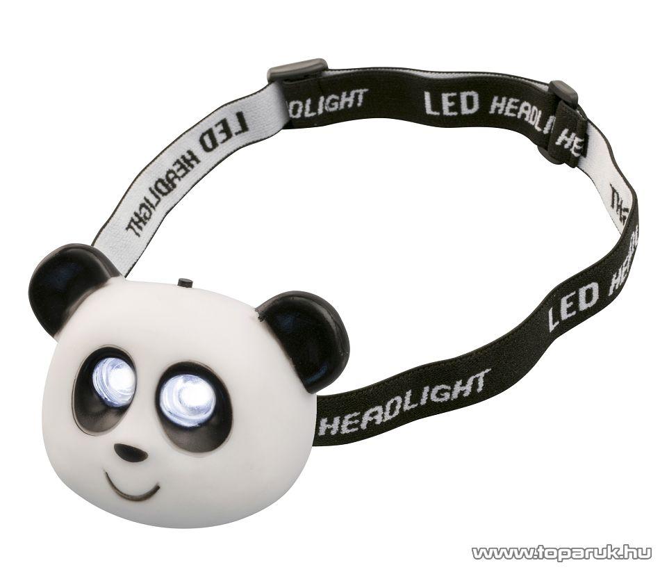 HOME HLP 2 P Nagy fényerejű hidegfehér DIP LED-es fejlámpa, panda