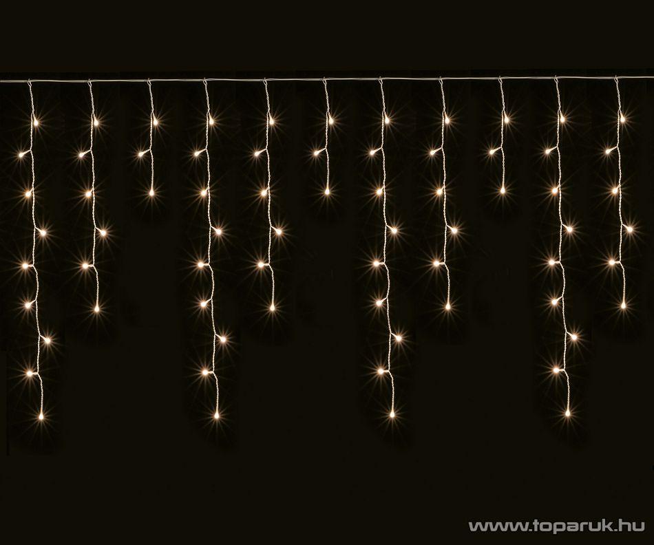 HOME KAF 240 Kültéri mini izzós fényfüggöny, 240 izzó, meleg fehér