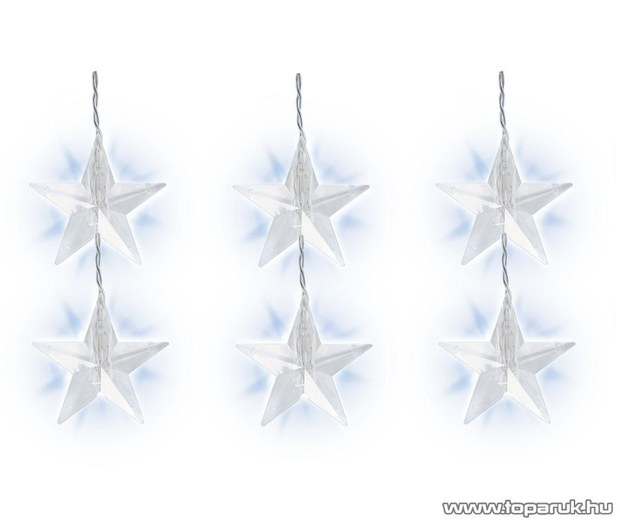HOME KAF 48 Csillag díszes fényfüggöny, 48 LED