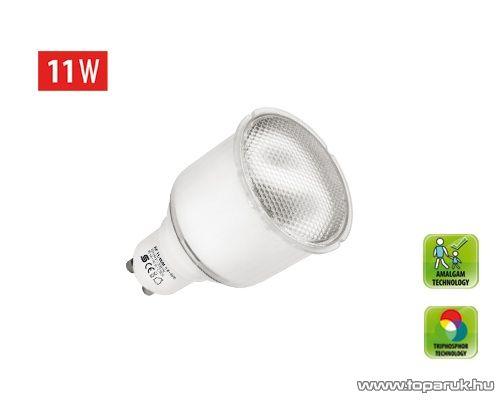 HOME KFC 11/GUM Kompakt fénycső, spot, 11 W, GU10, 2700 K