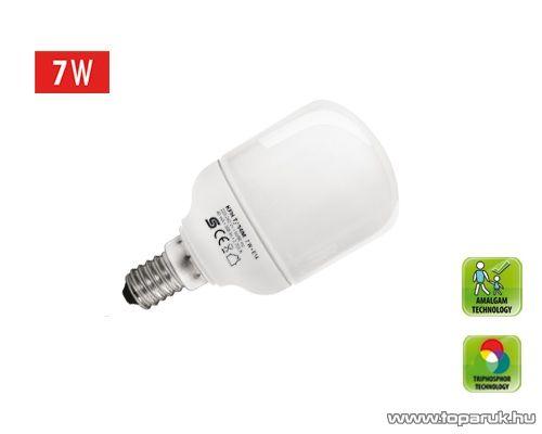 HOME KFHC 7/14M Kompakt fénycső, henger, 7 W, E 14, 2700 K