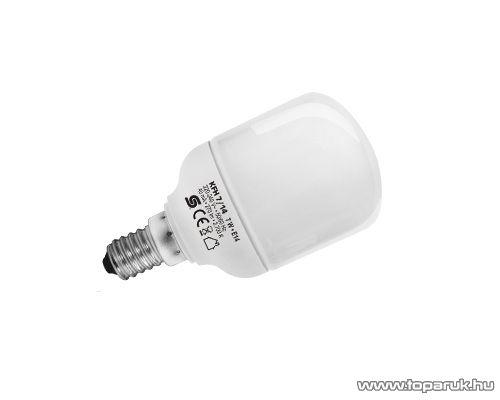HOME KFH 7/14 Kompakt fénycső, henger, 7 W, E 14 / mini, 2700 K