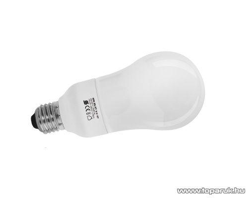 HOME KFK 20/27 Kompakt fénycső, körte, 20 W, E 27, 2700 K