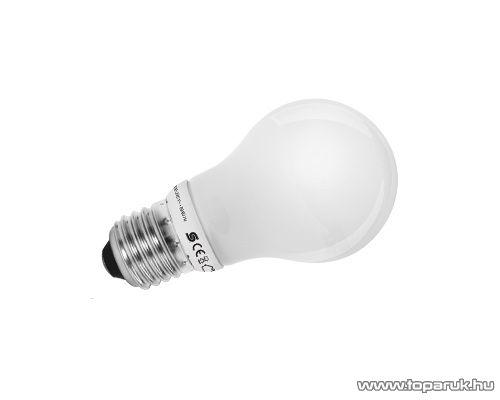 HOME KFK 9/27 Kompakt fénycső, körte, 9 W, E 27, 2700 K