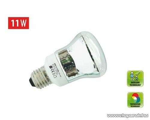 HOME KFR 11/27M Kompakt fénycső, R63 spot, 11 W, E 27, 2700 K