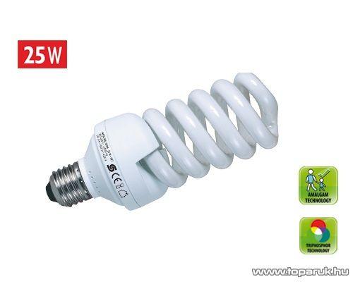 HOME KFS 25/27H Kompakt fénycső, spirál, 25 W, E 27, 4200 K (hideg fehér)