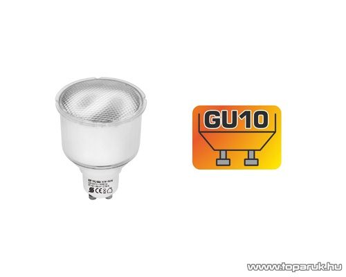 HOME KF 11/GU Kompakt fénycső, GU spot, 11 W, GU10, 2700 K