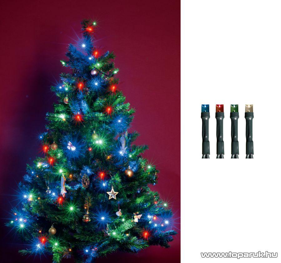 HOME KI 100 LED/M Beltéri LED-es fényfüzér, 100 db LED, 8 m hosszú, multi (színes) fényű