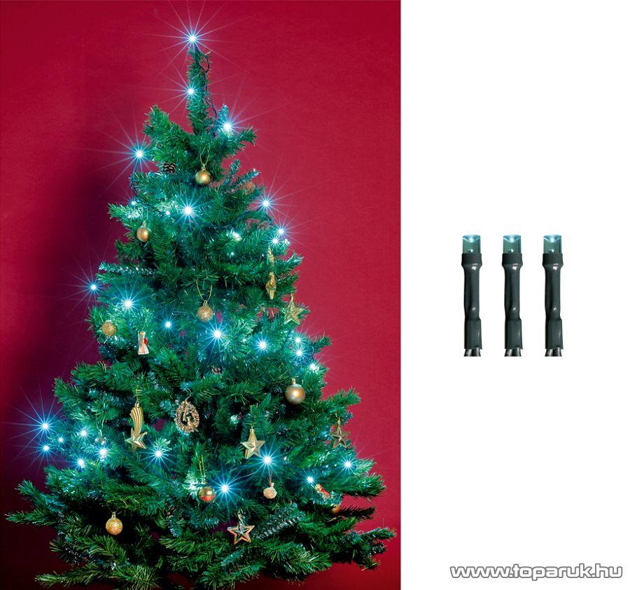 HOME KI 200 LED/T Beltéri LED-es fényfüzér, 200 db LED, 16 m hosszú, türkiz fényű