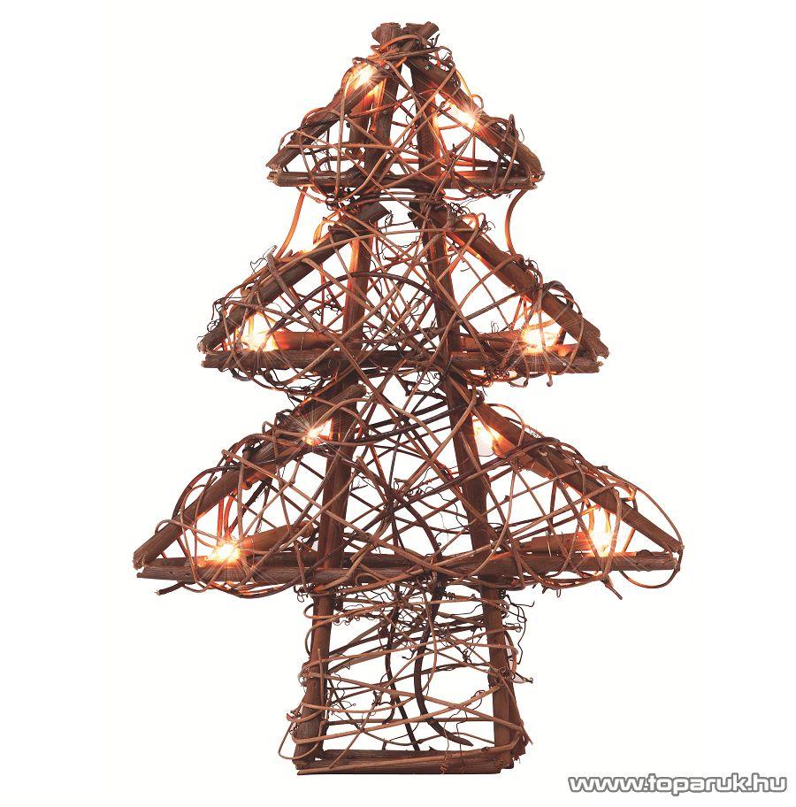 HOME KID 102/R Rattan világító karácsonyfa - megszűnt termék: 2017. január