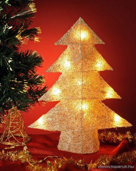 HOME KID 40/WH Fenyőfa dísz, 40 cm - megszűnt termék: 2014. november