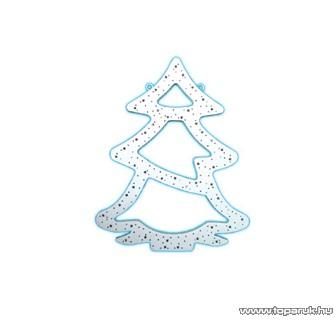 HOME KID 505 Fenyőfa ablakdísz, fehér - készlethiány