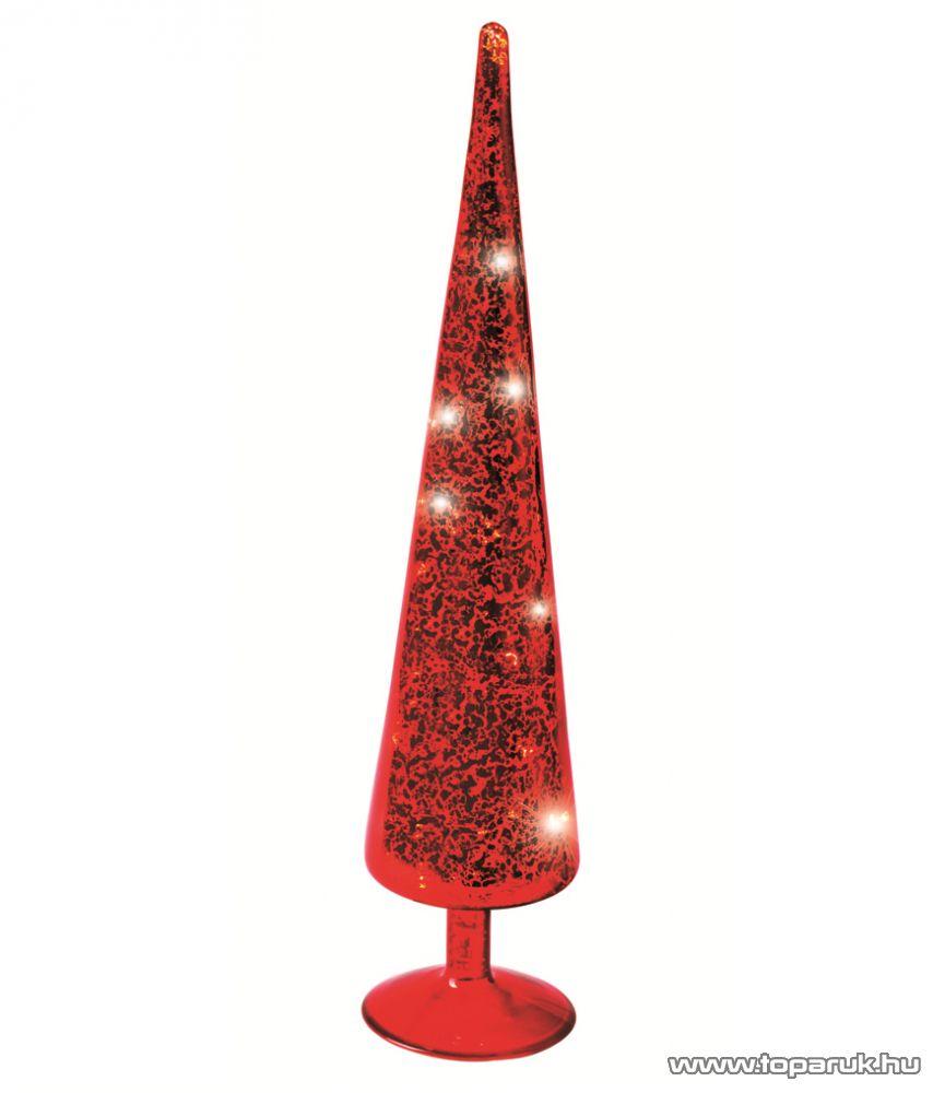 HOME KIG 38/RD LED-es gúla dísz, piros, 38 cm - megszűnt termék: 2014. október